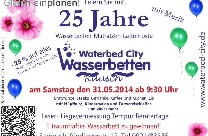 25 Jahre Waterbed City