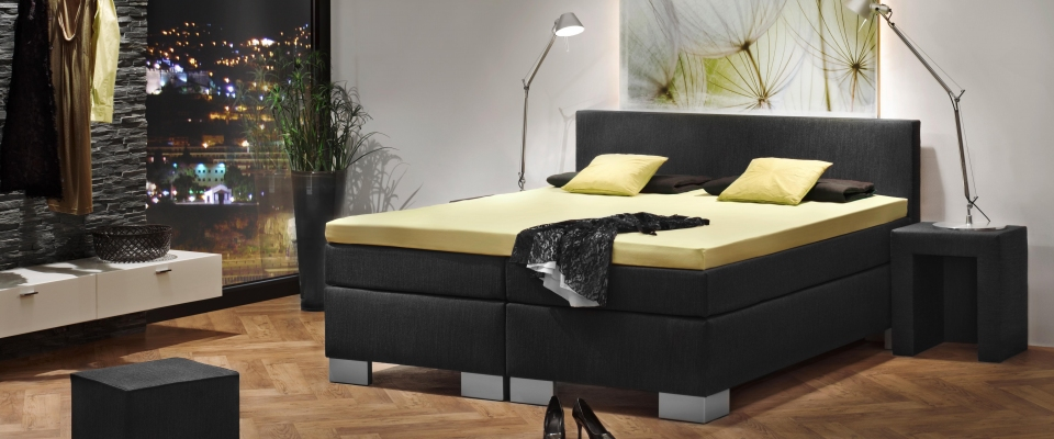 boxspringbetten in bayreuth rausch das bettenhaus waterbed city. Black Bedroom Furniture Sets. Home Design Ideas
