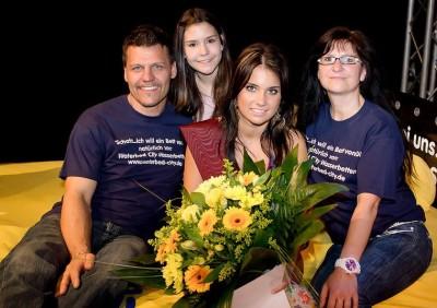 Miss Volksfest 2014 die Gewinnerin