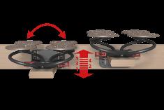 Airflex Höhenverstellung
