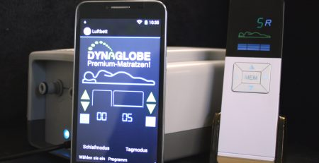Ölvitalbett Dynaglobe mit Touch-Screen
