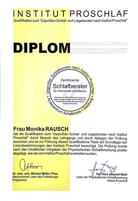 Diplom Monika Rausch