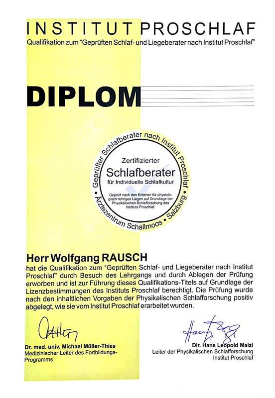 Diplom Wolfgang Rausch