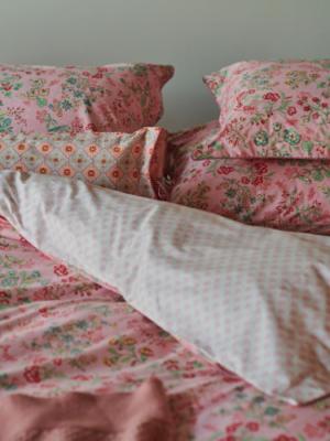 Pip Jaipur Flower pink Bett nah