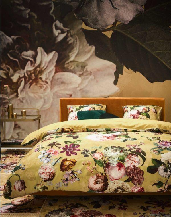 Essenza Bettbezug Fleur Golden Yellow BIld