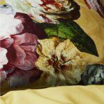 Essenza Bettbezug Fleur Golden Yellow Details
