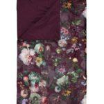 Essenza Plaid Fleur burgundy