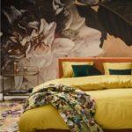 Essenza Plaid Fleur Golden Yellow Bild