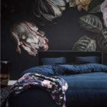Essenza Plaid Fleur Nachtblau Bild