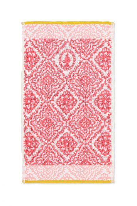 Pip Studio Handtuch Jacquard check Pink