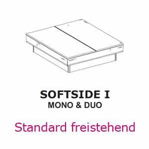 Aufbau-Anleitung für Softside freistehend