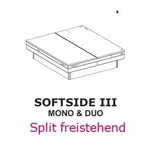 Aufbau-Anleitung für Split freistend