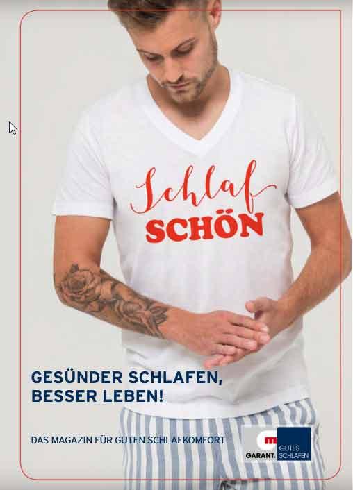 Schlaf Schön Katalog 2018