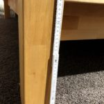 Neues Bettgestell aus Ausstellung Füße Höhe