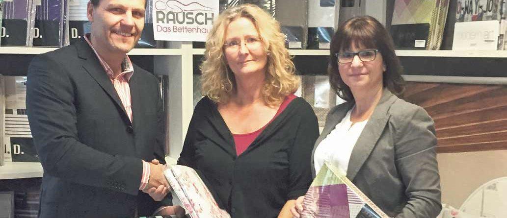 rausch Das Bettenhaus Spenden an Frauenhaus