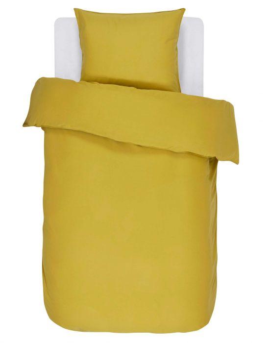 Essenza Bettwäsche Minte golden yellow