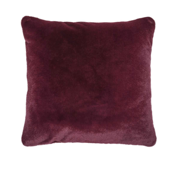 Essenza Furry Zierkissen burgundy