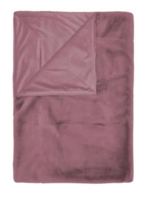 Essenza Furry Plaid dusty lilac