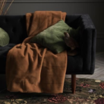 Essenza Furry Plaid leather brown Bild