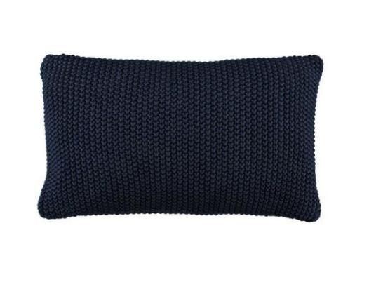 Marc o´Polo Nordic Knit Dekokissen indigo blue