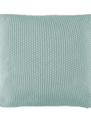 Marc o´Polo Nordic Knit Cushion soft green