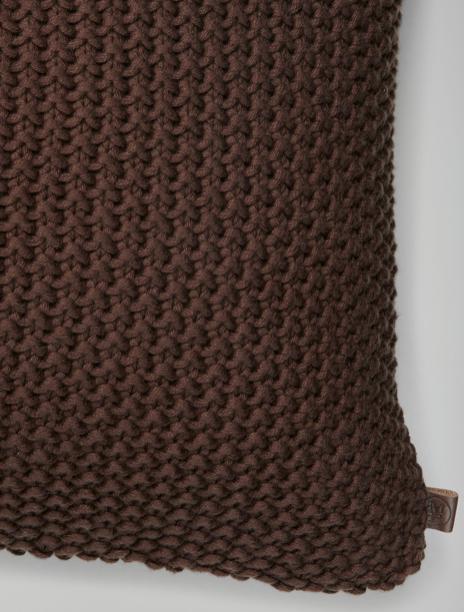 Marc o´Polo Nordic Knit Cushion brown