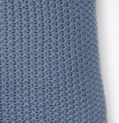 Marc o´Polo Nordic Knit Dekokissen smoke blue