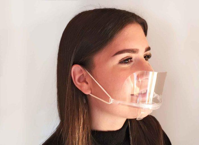 Maske Mundschutz Spuckschutz