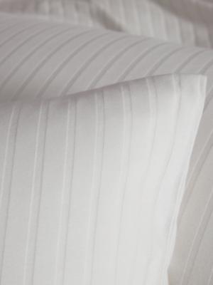 Elegante Solid Stripe Bettwäsche 07
