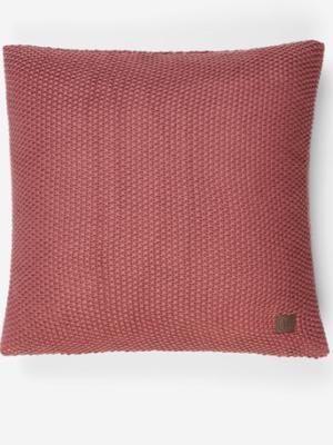 Marc o´Polo Nordic Knit Cushion warm earth