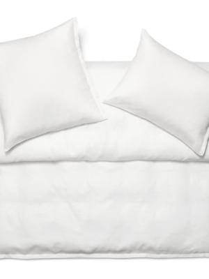 Schlossberg Levin Leinen Deckenbezug blanc